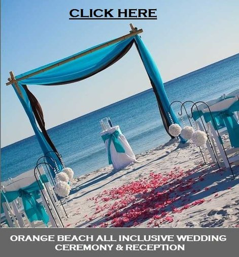 All Inclusive Beach Wedding Packages: ORANGE BEACH WEDDING PACKAGES